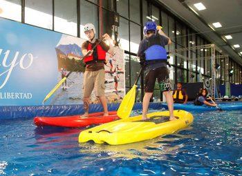 São Paulo para crianças - Passeio radical  Adventure Sports Fair traz  atrações para crianças e adultos 235af212fab8b