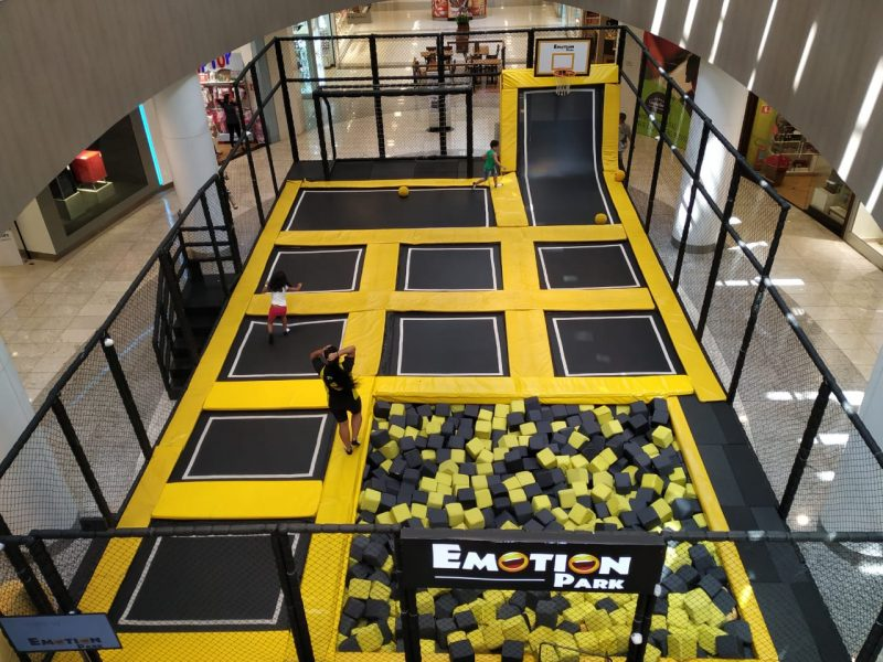 Emotion Park no Tietê Plaza Shopping