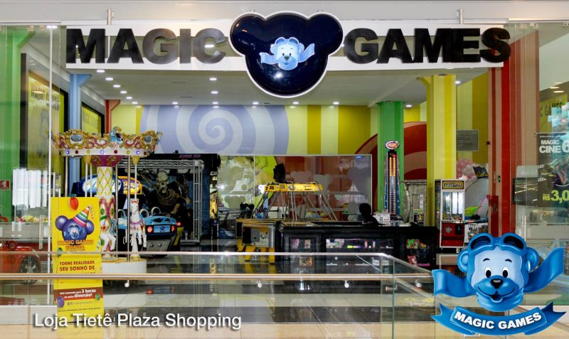 Magic Game no Tietê Plaza Shopping